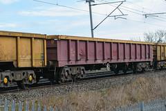 503589 Kingsthorpe 050217 (Dan86401) Tags: 503589 503 mla bogie open ballastbox wagon freight greenbrier ews db dbcargo redsnapper fishkind engineers departmental infrastructure wilsonscrossing kingsthorpe northampton wcml 6r05