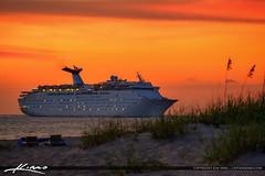 Cruise Ship Port of Palm Beach Singer Island Florida (Captain Kimo) Tags: captainkimo cruiseship easyhdrbeach hdrphotography portofpalmbeach singerisland southflorida tonemapping