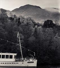 Loch Katrine (Kevin J Allan) Tags: autumn cameramamiyarz67 filmkodakektar iso100 scotland lochkatrine trossachs benvenue sirwalterscott