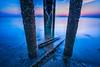 Pillars (Muhammad Al-Qatam) Tags: nikon d810 muhammadalqatam kuwait kuwaitcity sunrise landscape pillars peir