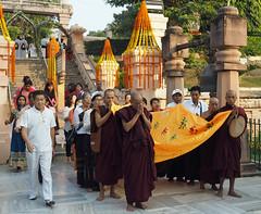 "PB140637-a (photozaki) Tags: india ""sujata kuti"" ""mahabohi temple"" ""mahabodhi mahavihara temple ""buddhist buddha buddhism ""bodhi tree"" bodhgaya gaya buddhist monk monks ashoka enlightenment ""vajrasan diamond throne"""