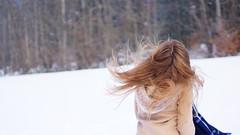 //snow (begin-again) Tags: portrait aesthetics people snow minimalism minimalistic switzerland white hair hairflip lausanne