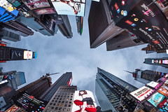 Times Square in one frame (dansshots) Tags: dansshots nikon nikond750 rokinon rokinon12mm rokinon12mm28 wideangle timessquare timessquarenewyorkcity timessquarenyc lookup lookingup architecture architectureofnewyorkcity