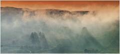 Ireland - Co.Kerry - Killarney - Mist rising from the valley near Moll's Gap (Hugh Rooney 34) Tags: ireland republicofireland winter valley mountains rays trees killarney evening fog mist kerry outdoor scenery scenic rural