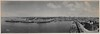 Panorama of Circular Quay from a ship's mast, 1903 / by Melvin Vaniman (State Library of New South Wales collection) Tags: statelibraryofnewsouthwales panorama