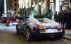 Bugatti Veyron Grandsport L'Or Blanc. (JayRao) Tags: paris îledefrance france fr hotel plazaathenee hypercar luxury nikon d610 jayr saudicars ksa bugatti veyron grandsport orblanc ferrari laferrari 458 speciale