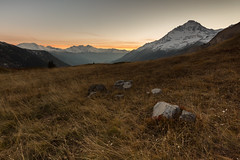 Vanoise #2 (Nicolas Gailland) Tags: landscape nature paysage montagne mountain vanoise parcnationaldelavanoise parcnational plandulac termignon france canon hitech filter filtre nd gnd mark sunset coucherdesoleil colors couleurs