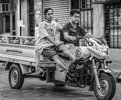 Water delivery workers (FotoGrazio) Tags: asian waterdelivery vigan water pinoy photographicart internationalphotographer worldphotographer male contrast photojournalism delivery streetphotography artofphotography tricycle lifeinthephilippines twoyoungmen motorbike waynesgrazio streetscene pacificislanders people 500px californiaphotographer digitalphotography philippines documentaryphotography flickr sandiegophotographer composition photography man photographicartist workers driving fotograzio streetportrait filipino transportation waynegrazio business blackandwhite socialdocumentary working