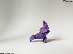 Picorer - Barth Dunkan (Magic Fingaz) Tags: barthdunkan bird burung chim oiseau origami origamibird pájaro pássaro ptak uccello vogel птица นก 鳥 鸟
