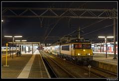 NSR 1763 + 7310 - 6668 (Spoorpunt.nl) Tags: 29 januari 2017 ddar stam 7310 locomotief 1763 nsr ns reizigers sprinter 6668 station dordrecht nacht avond