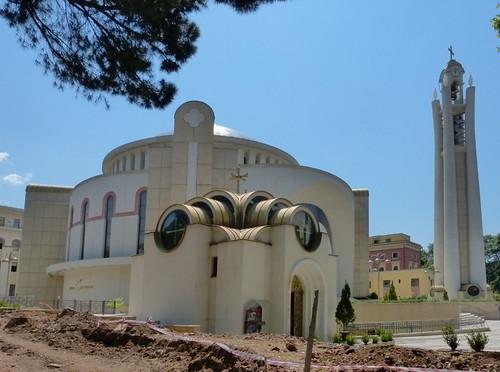 Tirana, Krisztus Feltámadása ortodox székesegyház