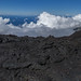 From a top a volcano