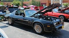 1977 Pontiac Firebird Trans Am (osubuckialum) Tags: show black classic cars car nc gm northcarolina firebird pontiac 1977 77 cary carshow transam tarheeltigers