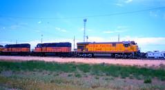 North Platte, Nebraska (rrradioman) Tags: road nebraska pacific union august milwaukee platte 1980 noth meil