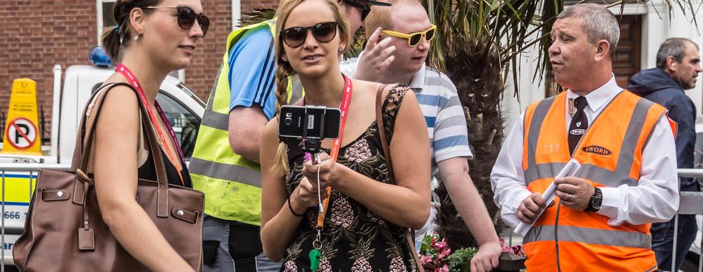 DUBLIN 2015 GAY PRIDE FESTIVAL [BEFORE THE ACTUAL PARADE] REF-106246