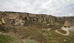 IMG_8588_p (storvandre) Tags: travel history turkey site ruins mediterranean unesco geology turismo viaggio turkish cappadocia anatolia göreme goreme turchia kapadokya fairychimneys uçhisar centralanatolia storvandre