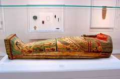 Coffin of Amunred 1 (Universal Pops (David)) Tags: wood red black green art motif beard ancient paint god decoration egypt northcarolina raleigh cairo symbols mummy coffin ankh rebirth protection dynasty gesso osiris hieroglyphics deities immortality afterlife deceased funereal northcarolinamuseumofart benisuef heracleopolis amunred