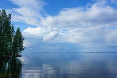 Höytiäinen - Finland (Sami Niemeläinen (instagram: santtujns)) Tags: summer lake nature finland landscape finnland maisema finlandia kesä luonto järvi höytiäinen kontiolahti puntarikoski häikänniemi