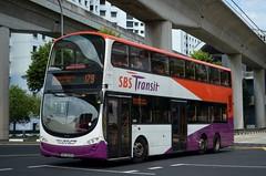 SBS Transit Volvo B9TL Wright Eclipse Gemini II (nighteye) Tags: bus eclipse volvo singapore wright sbstransit b9tl geminiii eurov service179 weg2 新捷运 sbs3205h