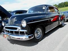 1949 Chevy Fleetline (splattergraphics) Tags: chevy carshow 1949 fleetline sykesvillemd winfieldvolunteerfiredept libertystreetrods