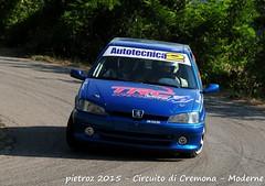 058-DSC_6408 - Peugeot 106 - N2 - Arena Luca-Lo Presti Gianluca - FKP Racing Team piacenza (pietroz) Tags: photo nikon foto photos rally fotos di pietro circuito cremona zoccola pietroz d300s