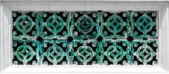 2016_04-Bangkok-M00136 (trailbeyond) Tags: architecture asia bangkok building green location outdoors pattern religiousbuilding temple templeoftheemeraldbuddha thailand thegrandpalace wall watphrakaew white