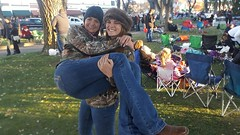 Prescott Arizona Road trip see the Christmas lighting of the courthouse. (HIRH_MOM) Tags: outdoor us family beautifulgirls mykid daughter smile fun roadtrip love milf prescottarizona arizona sunset christmastime 2016 cute pretty funny