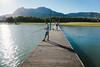 Piana degli Albanesi (Colors in B&W) Tags: lago diga scily pontile pianadeglialbanesy lake