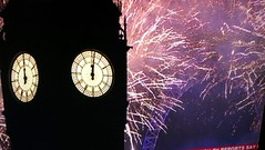 New year fireworks on the Beeb 2017 (ell brown) Tags: newyearsday newyearsday2017 bbc bbcnews bbcone southbank lambeth londonboroughoflambeth london greaterlondon england unitedkingdom greatbritain jubileegardens londoneye thelondoneye milleniumwheel merlinentertainmentslondoneye housesofparliament houseofcommons houseoflords bigben elizabethtower palaceofwestminster westminster cityofwestminster mobile mobileshots huawei huaweip9 fireworks happynewyear