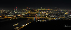 Vienna at night (erex@gmx.at) Tags: vienna leopoldsberg