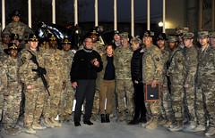 US SECDEF Ash Carter visits Afghanistan