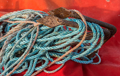 Ropes and Anchors, Hastings Beach (Peter Cook UK) Tags: hastings beach fishing anchor sussex rope