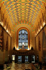 Gilded (Flint Foto Factory) Tags: detroit michigan urban city winter december 2016 downtown mini pre christmas holiday vacation weekend financial district guardian building 500 griswoldst griswold built 1928 1929 beautiful artdeco architecture architectural style cathedral