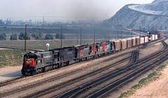 Mix'em Up (GRNDMND) Tags: trains railroads southernpacific sp espee locomotive ge u33c emd sd45t2 sd9e gp9e gp35 westcolton california
