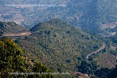 RLY-TRACK-AROUND-THE-HILL (prem swaroop) Tags: railwaytrack railway track ghats arakutrainjourney journey tourist touristattraction aptourism andhrapradesh arakupicturepostcard hillstation holiday hillterrain