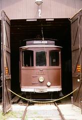 #0509 (en tee gee) Tags: trolley streetcar barn maryland museum