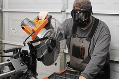 Day 2926 - Day 4 (rhome_music) Tags: ridgid saw mitersaw mask recreation 365days 365days2017 365more daysin2017 photosin2017 365alumni year9 365daysyear9 dailyphoto photojournal dayinthelife 2017inphotos apicaday 2017yip photography canon canonphotography eos 7d