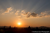 Sunset over the Temples of Bagan, Myanmar (AnthonyGurr) Tags: myanmar burma sunset temples bagan orangesky lowsun sun landscape view mist anthonygurr