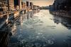 Frozen Light (Gilderic Photography) Tags: gilderic 500d canon cityscalpe skyline city cite mighty cold frozen meuse water river winter belgie belgium belgique liege