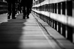 walk the line (JayPiDee) Tags: balticsea bigma deutschland füse germany holz landschaft leute menschen ostsee person schleswigholstein seebrücke sigmadg50500mm4563apohsm ammeer andersee attheseaside bw feet landscape people pier sw wood