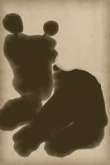 2015.11.06 Dog (Julia L. Kay) Tags: zenbrush zenbrushapp zen brush zenbrushapponly bw blackandwhite black white juliakay julialkay julia kay artist artista artiste künstler art kunst peinture dessin arte woman female sanfrancisco san francisco sketch dibujo daily everyday 365 mobileart mobile idraw isketch iart digital mda iamda mobiledigitalart ipad touchscreen fingerpaint fingerpainter touch tablet iphone idevice ithing dog canine animal pet puppy