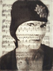 It would be an awful sin ~ (lorenka campos) Tags: self modernart art expressionism sins music portraits lyrics faces