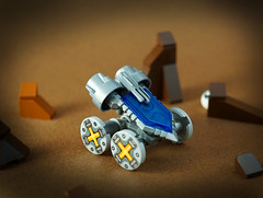 Febrovery 2017 Day 9 (TFDesigns!) Tags: lego space rover febrovery alien planet nexo