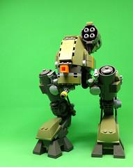 Alpha 3 - Vehicle B (2 Much Caffeine) Tags: lego moc mech