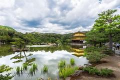 Kinkaku-ji - 金閣寺 (Kostas Trovas) Tags: canon6d 京都 asia nature water tourist lake 金閣寺 goldenpagoda travel reflection kinkakuji sky hdr kyoto 日本 japan pagoda