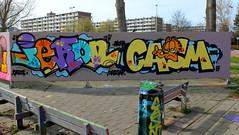 Graffiti Couwenhoek (oerendhard1) Tags: graffiti streetart urban art rotterdam couwenhoek iekon ikon casm