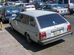 1980 Datsun 210 SL Wagon (vetaturfumare - thanks for 3 MILLION views!!!) Tags: tijuana mexico datsun nissan sunny 210 wagon 310 primer lowered stance 1980