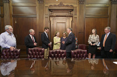 02-22-17 Governor Bentley with Barry Moore & Family