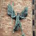 Coventry Cathedral - Epstein's sculpture of St.Michael and Lucifer