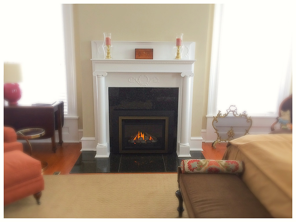 Valor G4 Direct Vent Fireplace Insert. Chattanooga, Tn.